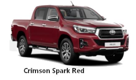 Crimson Spark Red