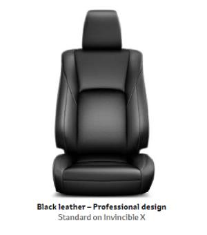 Black Leather Professional Design X