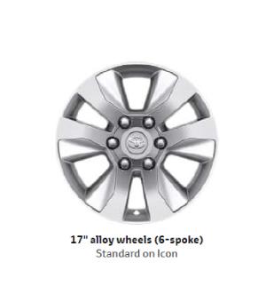 17 Alloy Wheels(6-spae)