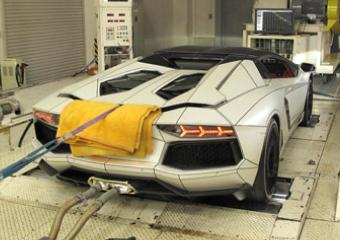 輸入車の排ガス試験