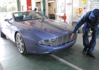 新車輸入自動車の予備検査